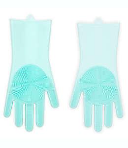 Kikkerland® Designs Guantes de limpieza de silicón, Set de 2