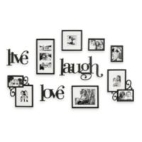 WallVerbs™ 10-Piece Live Laugh Love Wall Collection