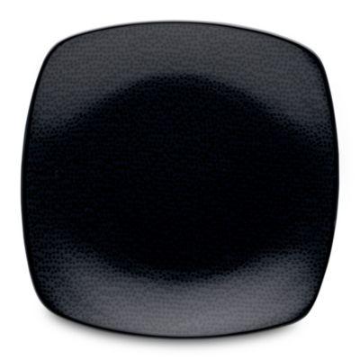 Noritake® Black on Black Snow Square Dinner Plate  sc 1 st  Bed Bath u0026 Beyond & Buy Black Square Dinner Plates from Bed Bath u0026 Beyond