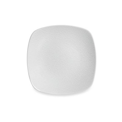 Noritake® White on White Snow Square Salad Plate  sc 1 st  Bed Bath \u0026 Beyond & Buy Square White Plates from Bed Bath \u0026 Beyond