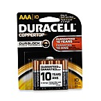 Duracell® Coppertop 10-Pack AAA Batteries