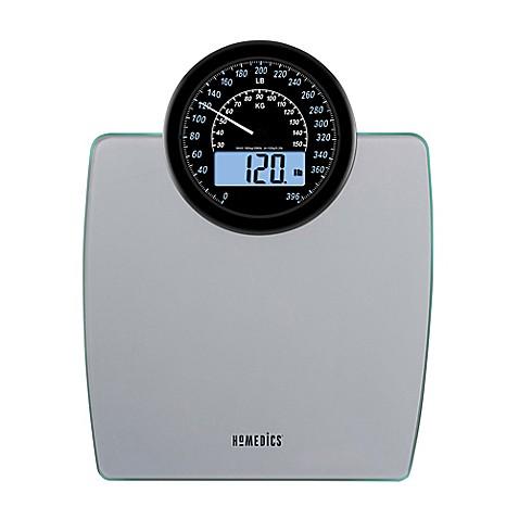 Homedicsr 900 dual display digital bathroom scale bed for Bathroom scales at bed bath and beyond