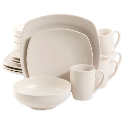 Gibson Home Paradiso 16-Piece Dinnerware Set in Linen  sc 1 st  Bed Bath u0026 Beyond & Buy Gibson Everyday Dinnerware from Bed Bath u0026 Beyond