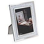 Oleg Cassini Crystal Diamond 5-Inch x 7-Inch Picture Frame