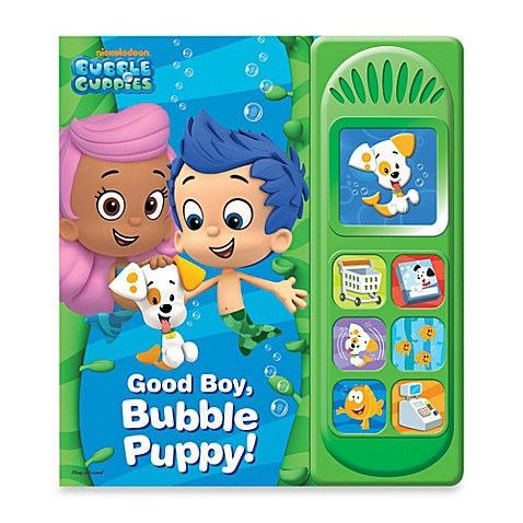 Bubble Guppies Little Sound Good Boy Bubble Puppy Play A Sound Board Book