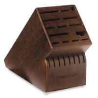 Wusthof® 22-Slot Wood Knife Block in Walnut