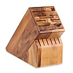 Wusthof® 17-Slot Acacia Wood Knife Block