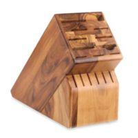 Wusthof® 17-Slot Acacia Wood Knife Block