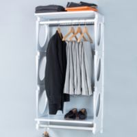 KiO 2-Foot Closet and Shelving Kit in White