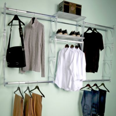 KiO 8 Foot Closet And Shelving Kit In Frost