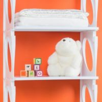 KiO 2-Foot Shelf Bundle in White (Pack of 2)