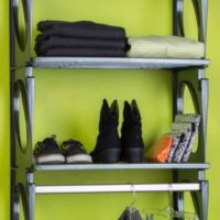 KiO 2-Foot Shelf Bundle in Black (Pack of 2)