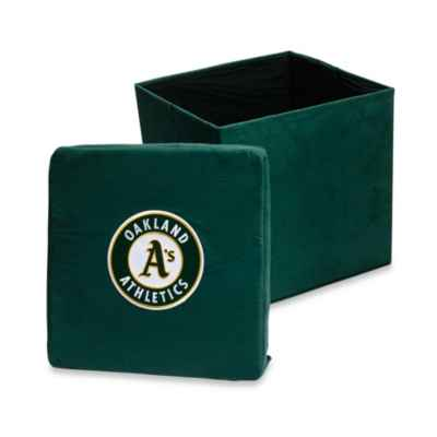 Oakland Athletics Collapsible Storage Ottoman
