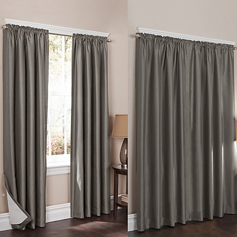 Wraparound Sierra Room Darkening Noise Reducing 2 Pack Window Curtain Panels Bed Bath Beyond