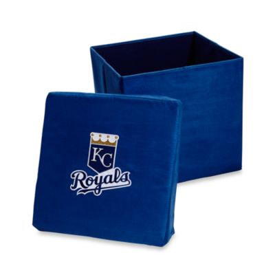 kansas city royals collapsible storage ottoman