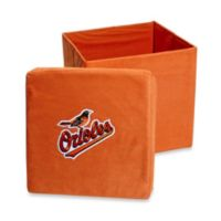 Baltimore Orioles Collapsible Storage Ottoman