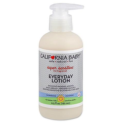 California Baby 174 Super Sensitive Everyday Lotion Buybuy