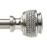 Umbra® Nautica Nickel 72-Inch – 120-Inch Drapery Rod