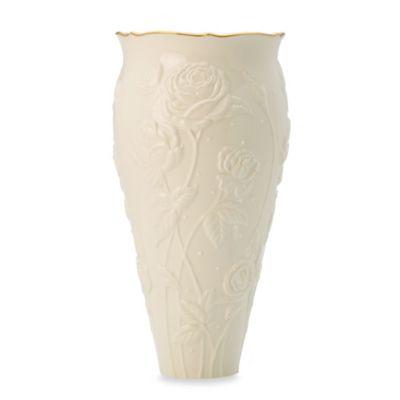 Ivory China Lenox Gilded Garden Large Vase, Home Decorating Vases ...