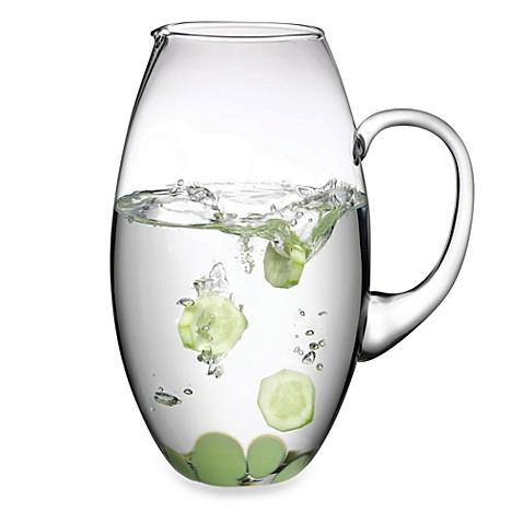 pasabahce 70 oz beverage pitcher with green design bed bath beyond. Black Bedroom Furniture Sets. Home Design Ideas