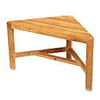 image of arb teak u0026 specialties fiji teak corner shower bench