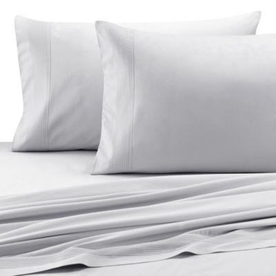 barbara barry dream pintuck sateen king pillowcase pair in fountain