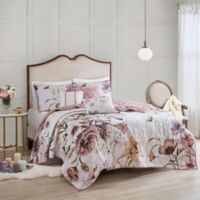 MP Cassandra Cotton 6pcs Coverlet Set F/Q Blush