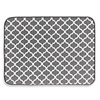 The Original™ XL Dual Dish Drying Mat in Grey Trellis