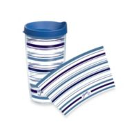Tervis® Stripe Lapis Fiesta® 16-Ounce Wrap Tumbler with Lid