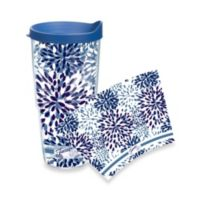 Tervis® Paisley Lapis Fiesta® Wrap 24-Ounce Tumbler with Lid in Blue Calypso