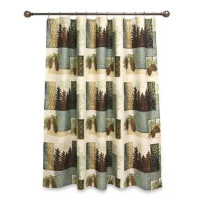 Westlake 70-Inch x 72-Inch Shower Curtain - Buy Lodge Curtains From Bed Bath & Beyond