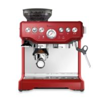 Breville® The Barista Express™ BES870CBXL Espresso Machine in Cranberry Red
