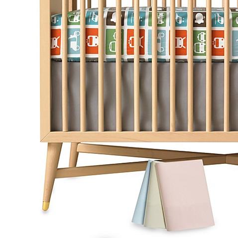 DwellStudio® Solid Canvas Crib Skirt