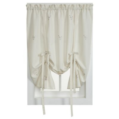 buy tie up valance window curtain from bed bath & beyond