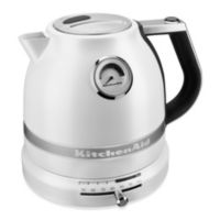 KitchenAid® Pro Line™ 1.5 Liter Electric Kettle in Pearl White
