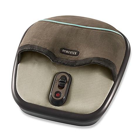 homedics® shiatsu + air foot massager - bed bath & beyond
