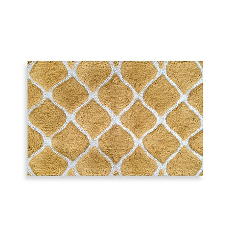 Colordrift Morocco Gold Bath Rug Bed Bath Beyond