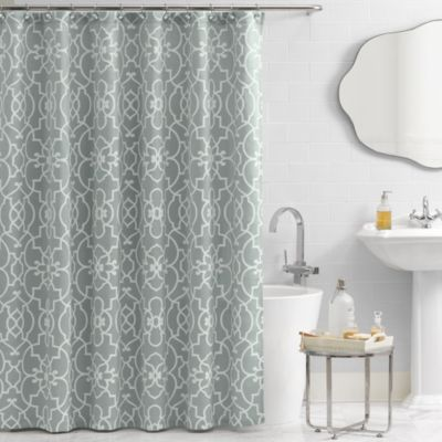 Vue® Signature Iron Gates 72 Inch X 72 Inch Shower Curtain