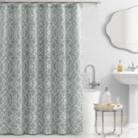 Vue® Signature Iron Gates 72-Inch x 72-Inch Shower Curtain