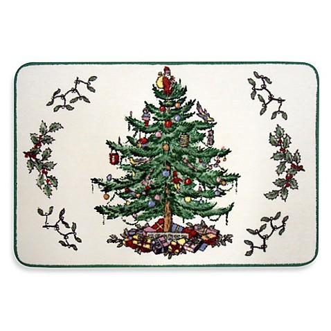 Spode Christmas Tree Bath Rug Bed Bath Beyond