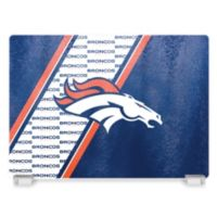 NFL Denver Broncos Tempered Glass Cutting Board