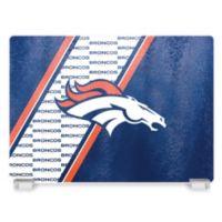 NFL Denver Broncos Tempered Glass Cutting Board