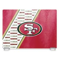 NFL San Francisco 49ers Tempered Glass Cutting Board