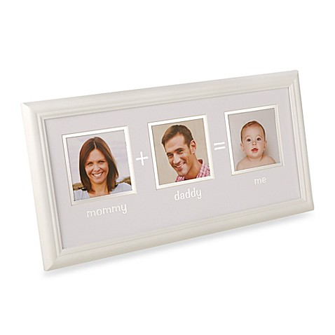 Pearhead Mommy + Daddy = Me 3 Opening Photo Frame - Bed Bath & Beyond