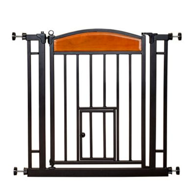 sliding pet gate
