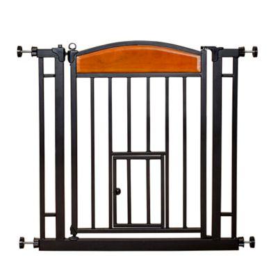 narrow pressure fit stair gate