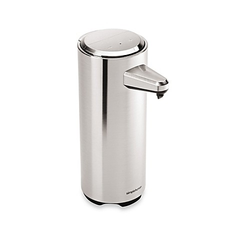 Simplehuman 174 Rechargeable Sensor Soap Dispenser In Brushed