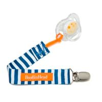BooginHead® PaciGrip in Nautical Blue Stripes