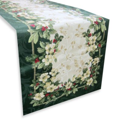 Joyous Holiday Table Runner Bed Bath Beyond