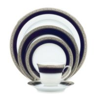 Noritake® Crestwood Cobalt Platinum 5-Piece Place Setting
